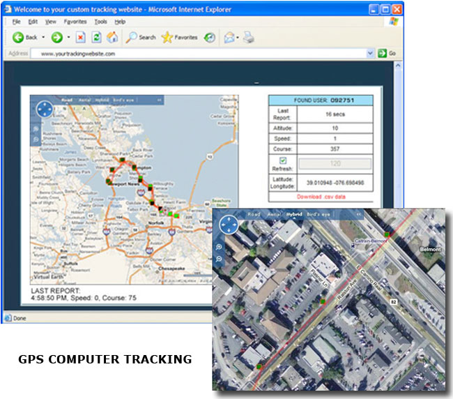 GPS Computer Tracking